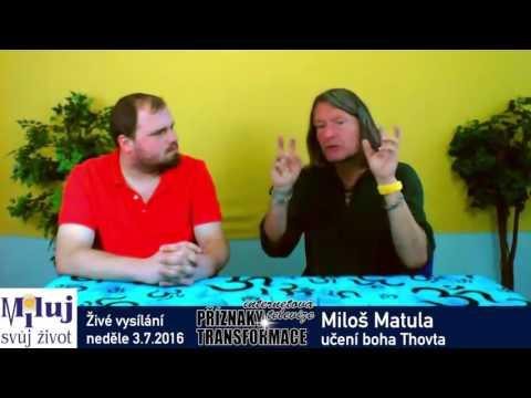 Miloš Matula - učení boha Thovta a práce s energií dle staroegyptských chrámových škol