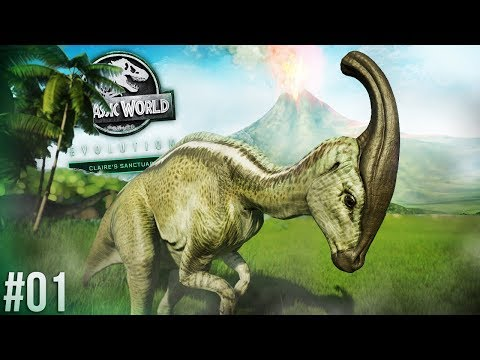 SAVING DINOSAURS FROM NUBLAR! | Claire's Sanctuary Part 1 (Jurassic World: Evolution)