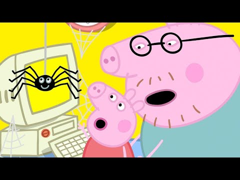Peppa Pig Official Channel 🕸 Peppa Pig and Mister Skinny Legs