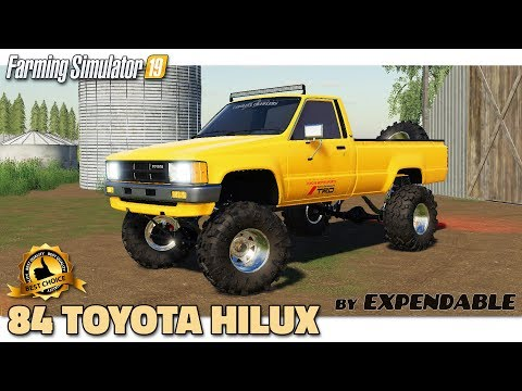 EXP19 84 Toyota Hilux v1.0