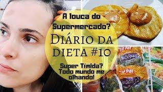 Dieta low carb - DIÁRIO DA DIETA #10 ALIMENTAÇÃO SAUDÁVEL+LOW CARB +COMPRAS /POR FABY OLIVEIRA MAKE-UP