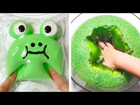 The Most Satisfying Slime ASMR Videos  Oddly Satisfying Slime 2019  83