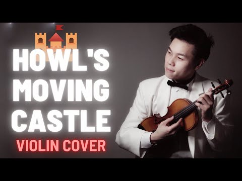 """Merry-Go-Round of Life from """"Howl's Moving Castle"""" Violin Cover ハウルの動く城 (4K)"""