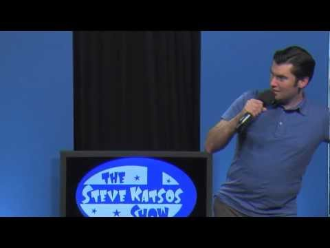 Ken Reid does stand-up comedy on The Steve Katsos Show