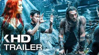 AQUAMAN Behind-the-Scenes & Trailer (2018)
