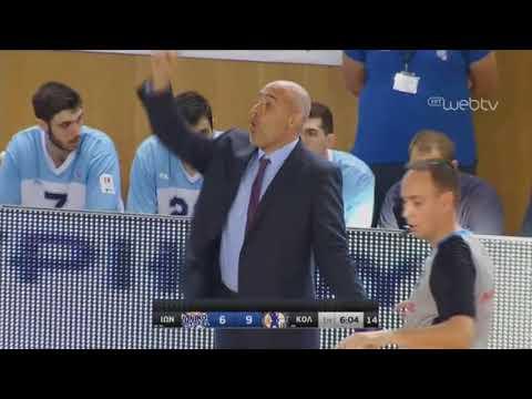 Basket League 2019-2020: ΙΩΝΙΚΟΣ ΝΙΚΑΙΑΣ – ΚΟΛΟΣΣΟΣ | 23/11/2019 | ΕΡΤ