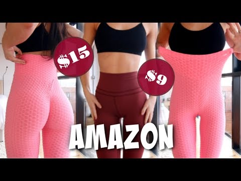 MOST See Through Leggings EVER | Try On Haul - Amazon Edition