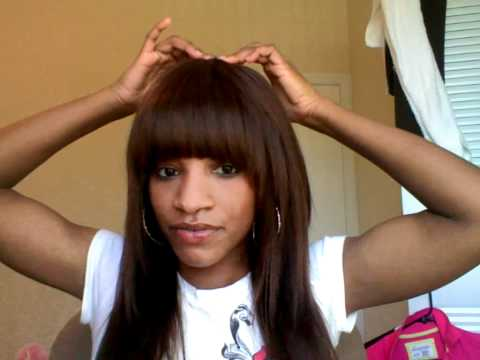 Sew in Bob with Bangs http://kiestu.com/videopage/on/rCc_LotEhWI.html
