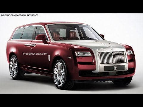 New Rolls-Royce SUV Renderings and details