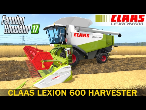 CLAAS LEXION 600, 580 FULL PACK v1.0