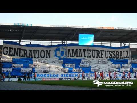 Video: Choreo: 1. FC Magdeburg - Energie Cottbus II