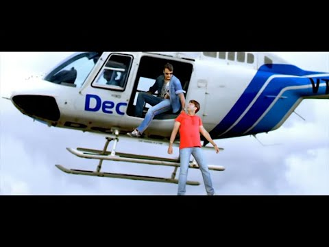 Darshan Massive entry from Helicopter | Superb Mass Scenes of Kannada Movies