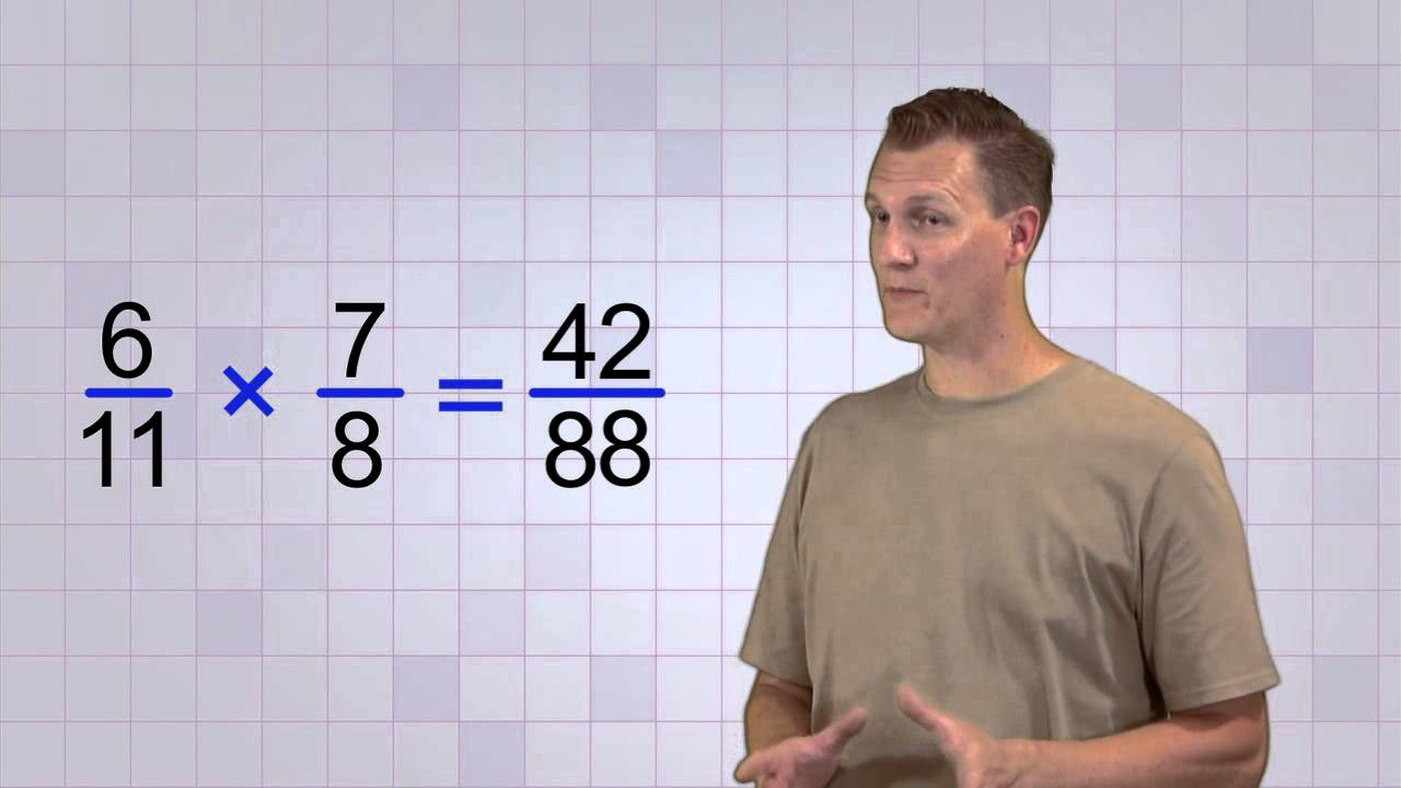 Picture of Math Antics Multiplying Fractions