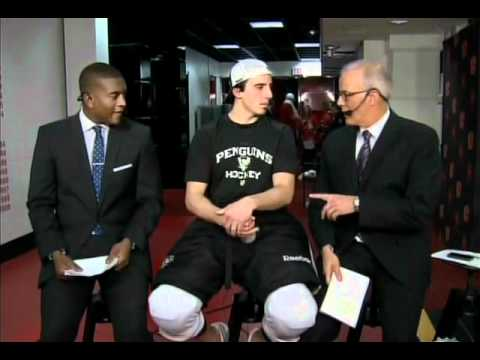 marc andre fleury - Penguins goaltender Marc-Andre Fleury interviewed on After Hours. (Aired 10/8/11)