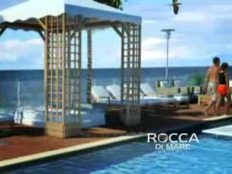 Apartamentos en santa marta frente al mar, Pozos Colorados Colombia edifcio Rocca di Mare (видео)