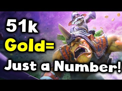 51k Throw/Comeback - Gold is Just a Number! D2CL 12 FINAL DOTA 2