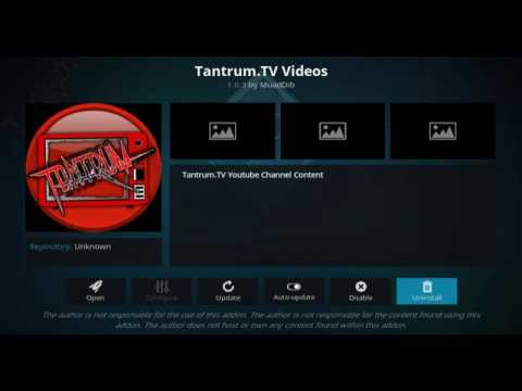 2018!!! SEPTEMBER NEW UPDATE THE TANTRUM TV ADULT ADDON FOR KODI 17.6 KRYPTON