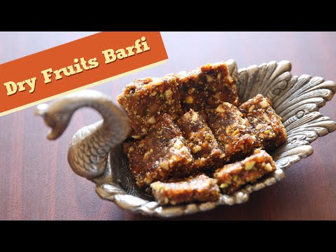 Dry Fruits Barfi | Best Barfi Recipe | Indian Sweets | Divine Taste With Anushruti