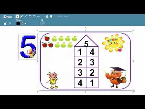 Вступ до математики. Склад числа 5