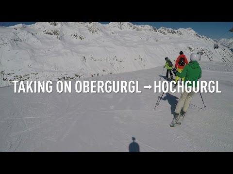Gra wideo na stoku - reklamówka Obergurgl-Hochgurgl