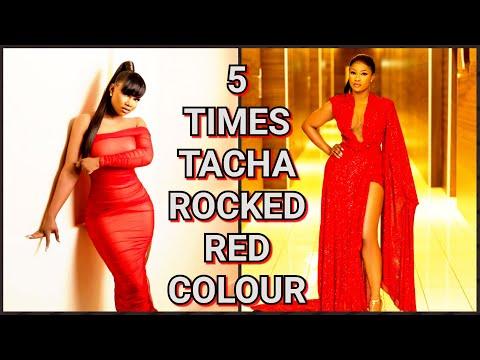 5 TIMES TACHA ROCKED RED DRESS ELEGANTLY| BBNAIJA 2020 @Symply Tacha
