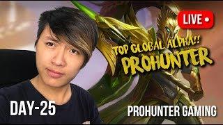 🔴 【LIVE】TOP GLOBAL ALPHA MESIN PEMBUNUH NO 1 BY PROHUNTER!!! ~MOBILE LEGENDS INDONESIA