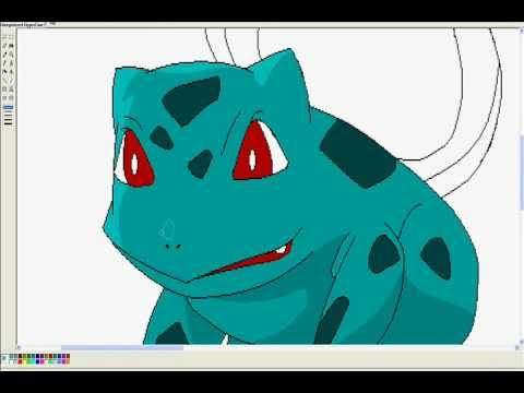 bulbasaur – ms paint