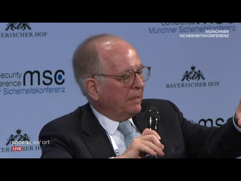 55. Münchner Sicherheitskonferenz am 16.02.19 (Teil ...
