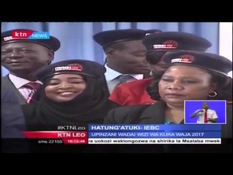 Tume ya IEBC imesema hawatabanduka uongozini kutokana na vitisho vya WanaCORD