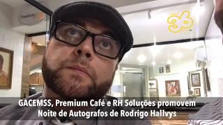 Noite de Autógrafos de Rodrigo Hallvys