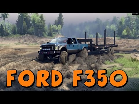 Spin Tires   BruteTerror Ford F350   Full Game Mod