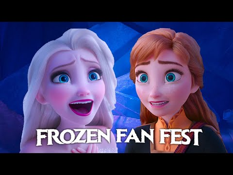 FROZEN FAN FEST 2020 +New FROZEN CLIP!