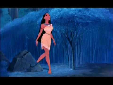 pocahontas - Versione italiana tratta dal cartone animato Pocahontas, cantata da Manuela Villa (1995) °°° Testo della canzone: Tu credi che ogni cosa ti appartenga La Ter...