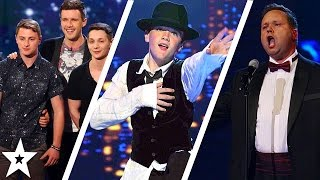Watch the first auditions from ALL Britain's Got Talent winners! Including Paul Potts, George Sampson, Diversity and more... who's your favourite? Let us kno...