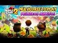 Maplestory 2 Nuevo Free to play Primeros Minutos
