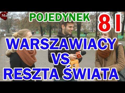Matura To Bzdura - WARSZAWIACY vs RESZTA ŚWIATA - POJEDYNEK NA WIEDZĘ odc. 81
