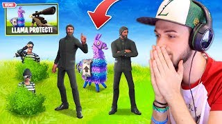 Video *NEW* PROTECT THE LLAMA Custom Mode in Fortnite: Battle Royale! MP3, 3GP, MP4, WEBM, AVI, FLV Agustus 2018