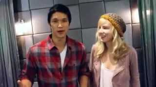 Heather Morris and Harry Shum Jr. teaches you to dance the Dougie !Have fun :)