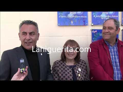 Descubrimientos de Placas Conmemorativas del 'Pito de Caña' y Premio 'Patitas' 2020