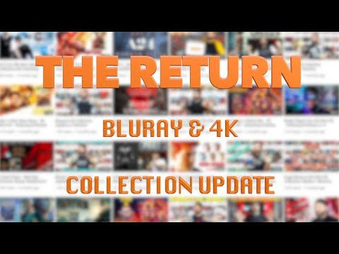The Return - Bluray & 4K Collection Update w/ Reviews (01/20/19) | BLURAY DAN