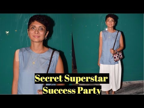 Kiran Rao At Success Party Of Secret Superstar Hosted By Advait Chandan