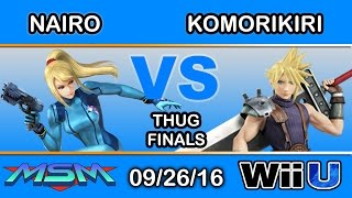 MSM 67 Thug Final – Komorikiri (Cloud) vs NRG | Nairo (ZSS)