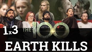 The 100 - 1x3 Earth Kills - Group Reaction