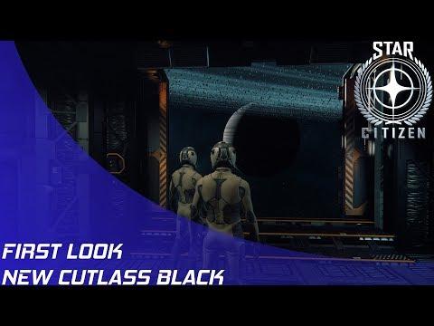 Star Citizen: New Cutlass Black Overview!