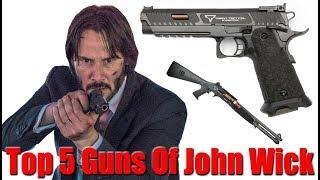 Video Top 5 John Wick Guns MP3, 3GP, MP4, WEBM, AVI, FLV September 2019