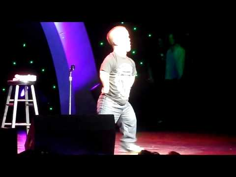 Brad Williams Dances for the Ladies @ Kevin & Bean April Foolishness 2013