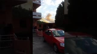 Požar u Sutomoru