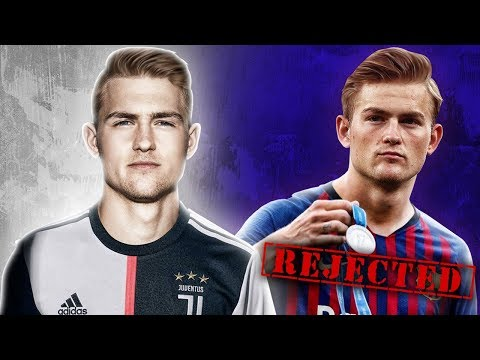 Video: Juventus BEAT Barcelona & PSG to The Signing of £75m De Ligt! | W&L