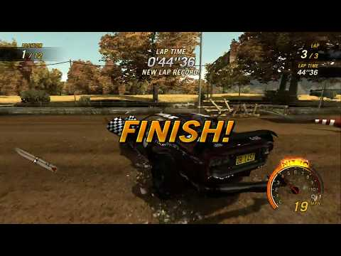 flatout ultimate carnage xbox 360 codes