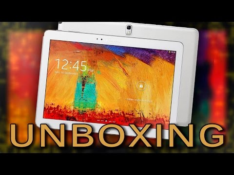 Unboxing: Tablet SAMSUNG GALAXY Tab PRO 10.1 (SM-T520)